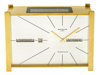 Patek Philippe Solar Clock For Tiffany & Co. With Calendar, circa 1968