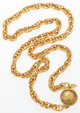 """Chanel Gold Chain Rue 31 Cambon Necklace Very Good Condition 34"""" Length This necklace is done in gold tone metal an..."""