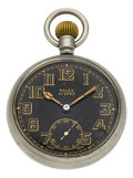 Timepieces:Pocket (post 1900), Rolex G.S. MK. II Military Pocket Watch. ...