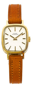 Timepieces:Wristwatch, Girard Perregaux Lady's 18k Wristwatch. ...