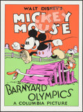"""Movie Posters:Animation, Barnyard Olympics (Circle Fine Art, R-1980s). Fine Art Serigraphs(5) (21"""" X 30.75""""). Animation.. ... (Total: 5 Items)"""