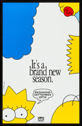 """Movie Posters:Animation, The Simpsons & Other Lot (20th Century Fox Television, 1993).Television Posters (2) (25"""" X 38.75"""", 27"""" X 39.75""""). Animatio...(Total: 2 Items)"""