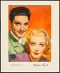 """Movie Posters:Hitchcock, The 39 Steps (Gaumont, 1935). British Exhibitor Ad (13"""" X 15.75"""") DS. Hitchcock.. ..."""