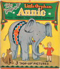 "Big Little Book:Cartoon Character, The ""Pop-Up"" Little Orphan Annie and Jumbo, The CircusElephant Book (Blue Ribbon Press, 1935) Condition: VG...."