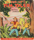 "Big Little Book:Adventure, The ""Pop-Up"" Tim Tyler in the Jungle Book (Blue Ribbon Press, 1943) Condition: VG...."
