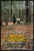 "Movie Posters:Crime, Miller's Crossing (20th Century Fox, 1990). One Sheet (27"" X 41""). Crime.. ..."
