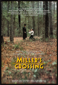 "Miller's Crossing (20th Century Fox, 1990). One Sheet (27"" X 41""). Crime"
