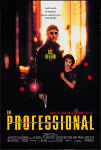 """The Professional & Other Lot (Columbia, 1994). One Sheets (2) (26.75"""" X 39.75"""", 27"""" X 39.75""""..."""