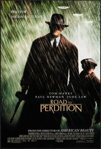 """Road to Perdition & Other Lot (DreamWorks, 2002). One Sheets (2) (27"""" X 40"""") DS. Crime. ... (Total: 2..."""