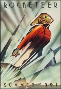 "Rocketeer (Walt Disney Pictures, 1991). One Sheet (27"" X 40"") DS Advance. Action"