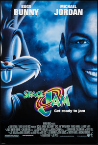"""Space Jam Lot (Warner Brothers, 1996). One Sheets (27"""" X 40""""), Set Of 9, Advance DS Regular & Characte..."""