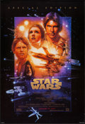"""Movie Posters:Science Fiction, The Star Wars Trilogy & Others Lot (20th Century Fox, R-1997).One Sheets (4) (27"""" X 41"""") Advance. Science Fiction.. ... (Total: 4Items)"""