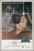 "Movie Posters:Science Fiction, Star Wars (Lucasfilm, R-1982). Video One Sheet (27"" X 41"") HeavyStock Style A. Science Fiction.. ..."