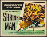 "The Incredible Shrinking Man (Universal International, 1957). Half Sheet (22"" X 28"") Style B. Science Fiction..."