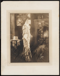 """Charles Ray in The Courtship of Miles Standish (Associated Exhibitors, 1923). Autographed Portrait Photo (11"""" X 14&..."""