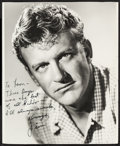 """Movie Posters:Miscellaneous, James Arness (1950s). Autographed Trimmed Photo (11"""" X 13.5"""").Miscellaneous.. ..."""
