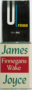 Books:Literature 1900-up, James Joyce. Pair of Titles. Titles include: Ulysses. [NewYork: Random House, 1946] [and:] Finnegans Wake. ... (Total:2 Items)