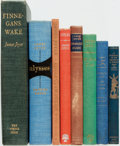 Books:Literature 1900-up, James Joyce. Group of Eight Titles. Various publishers and dates.... (Total: 8 Items)