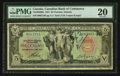 Canadian Currency: , Toronto, ON- Canadian Bank of Commerce $5 Jan. 2, 1917 Ch. #75-16-04-06b. ...
