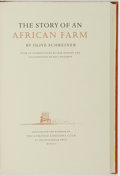 Books:Literature Pre-1900, Paul Hogarth, illustrator. SIGNED/LIMITED. Olive Schreiner. The Story of an African Farm. The Limited Editions Club,...