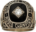 Baseball Collectibles:Others, 1966 Baltimore Orioles World Series Championship Ring from TheBrooks Robinson Collection....