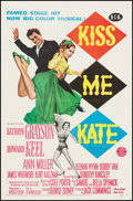 """Movie Posters:Musical, Kiss Me Kate (MGM, 1953). One Sheet (27"""" X 41.25""""). Musical.. ..."""
