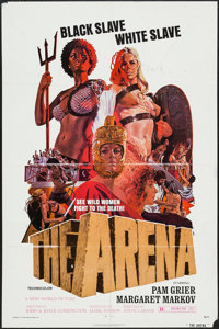 "The Arena & Others Lot (New World, 1974). One Sheets (2) (27"" X 41"") and Photos (3) (8"" X 10.25&q..."