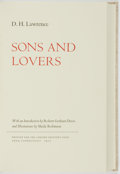 Books:Literature Pre-1900, Sheila Robinson, illustrator. SIGNED/LIMITED. D. H. Lawrence. Sons and Lovers. Avon: The Limited Editions Club, ...