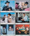 """Movie Posters:Western, 5 Card Stud (Paramount, 1968). Color Photo Set of 12 (8"""" X 10""""). Western.. ... (Total: 12 Items)"""