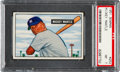 Baseball Cards:Singles (1950-1959), 1951 Bowman Mickey Mantle #253 PSA NM 7....