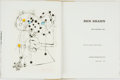 Books:Art & Architecture, Ben Shahn. James Thrall Soby, text. SIGNED/LIMITED. Ben Shahn: His Graphic Art. New York: George Braziller, Inc....
