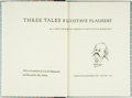 Books:Literature Pre-1900, May Néama, illustrator. SIGNED/LIMITED. Gustave Flaubert. ThreeTales by Gustave Flaubert. New York: The Limited...