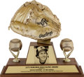 "Baseball Collectibles:Others, 1975 Gold Glove ""Career"" Award from The Brooks RobinsonCollection...."