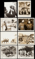 """Movie Posters:Action, Gunga Din (RKO, 1939). Photos (13), Reissue Photos (2), BritishFront of House Photos (2) (7.5"""" X 9.25"""", approx, 8"""" X 10"""") &...(Total: 18 Items)"""