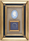 Political:Presidential Relics, George Washington: Substantial Lock of his Hair. ...