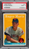 Baseball Cards:Singles (1950-1959), 1958 Topps Roger Maris #47 PSA Mint 9 - None Higher!...