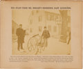 Political:Small Paper (pre-1896), Rutherford B. Hayes and Samuel J. Tilden: Election BetPhotograph....
