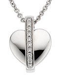 Estate Jewelry:Necklaces, Diamond, White Gold Pendant-Necklace, Piaget. ...