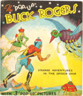 """Big Little Book:Mystery, The """"Pop-Up"""" Buck Rogers Strange Adventures in the SpiderShip Book (Blue Ribbon Press, 1935) Condition: F..."""