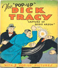 """Big Little Book:Mystery, The """"Pop-Up"""" Dick Tracy Capture of Boris Arson Book (BlueRibbon Press, 1935) Condition: GD+...."""