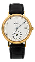 "Timepieces:Wristwatch, Breguet Ref. 1747 Yellow Gold ""Jubilee"" Limited Edition Of 300 Pieces, circa 1997. ..."