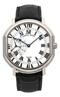 "Timepieces:Wristwatch, Daniel Roth ""Athys II"" White Gold Ref. 109.Y.60 Seconds Sector Wristwatch. ..."