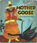 """Big Little Book:Humor, The """"Pop-Up"""" Mother Goose Book (Blue Ribbon Press, 1934)Condition: FN...."""