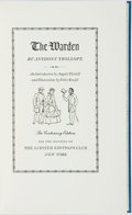 Books:Literature Pre-1900, Fritz Kredel, illustrator. SIGNED/LIMITED. Anthony Trollope. The Warden. New York: The Limited Editions Club, [1955]...