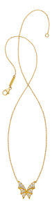 Estate Jewelry:Necklaces, Diamond, Gold Pendant-Necklace, Stephen Webster. ...