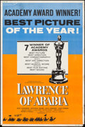 "Movie Posters:Academy Award Winners, Lawrence of Arabia & Other Lot (Columbia, 1963). Posters (2) (40"" X 60"") Academy Award Style. Academy Award Winners.. ... (Total: 2 Items)"