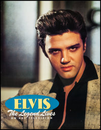"""Elvis Presley - The Legend Lives & Other Lot (ABC, 1990). Television One Sheet (25.5"""" X 33"""") and Poste..."""