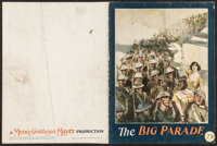 "The Big Parade (MGM, 1925). Program (16 Pages, 9.25"" X 12""). War"