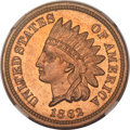 Proof Indian Cents, 1862 1C PR64 NGC....