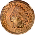 Indian Cents, 1909-S 1C AU55 Brown NGC. CAC....